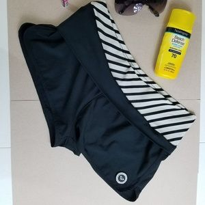 Roxy Boardshorts, Black/White, Large